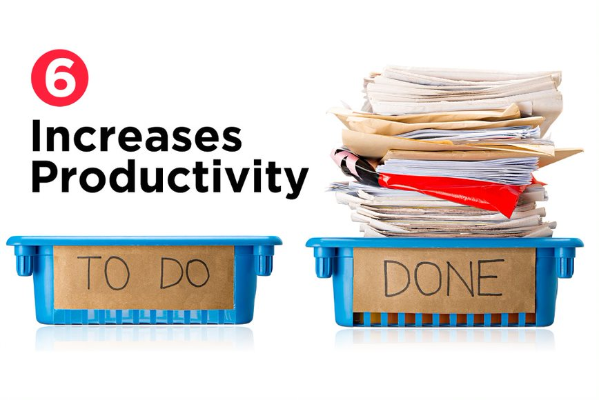 Increases Productivity