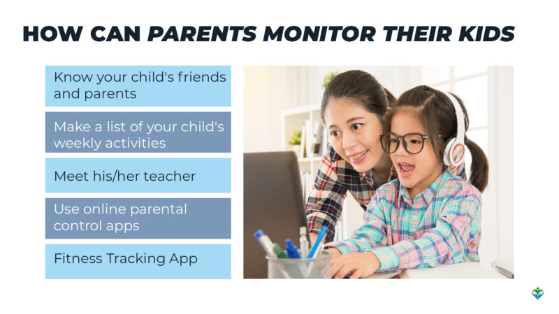 How can parents monitor their kids