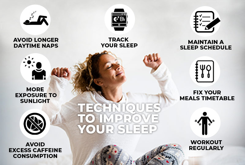 Top 7 techniques to improve your sleep
